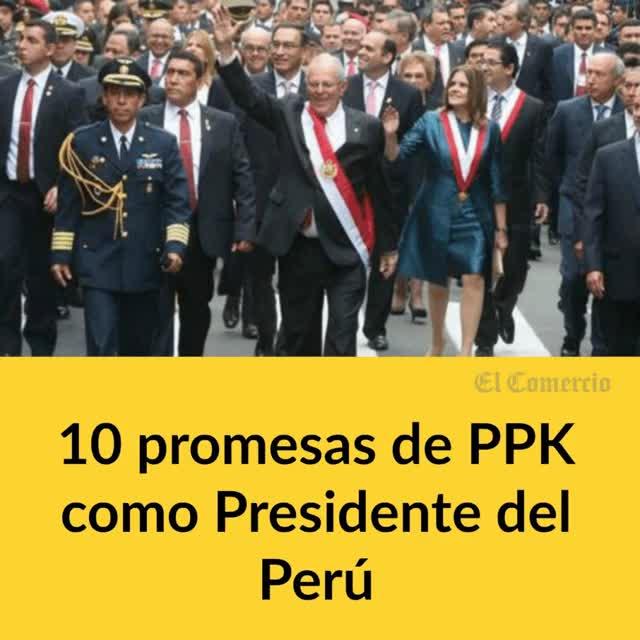 """Watch and share PPK: """"Comunicaremos A Comunidades Los Beneficios De Proyectos""""   Peru   Economía   El Comercio Peru GIFs on Gfycat"""