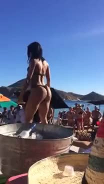 Watch and share Yovanna Ventura Twerks In Los Cabos GIFs on Gfycat