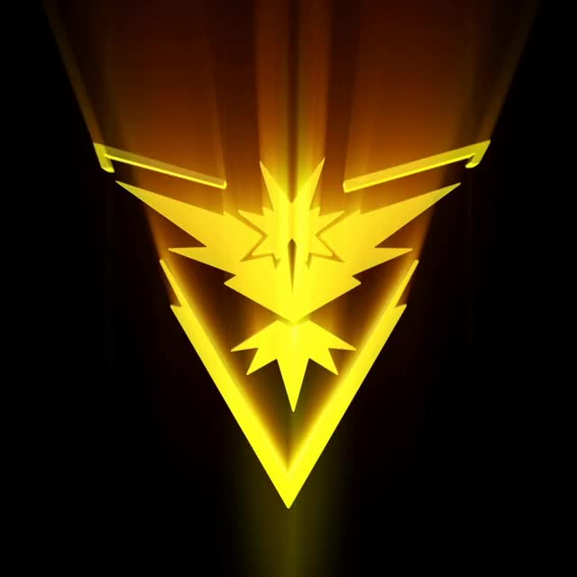 Watch and share Pokemon GO Team: Instinct Logo By LightningStrike77 GIFs on Gfycat