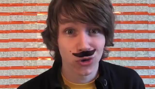 Watch and share Mustache GIFs and Charlie GIFs on Gfycat