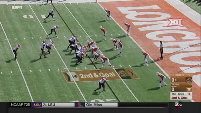 Watch and share Oklahoma State GIFs and Football GIFs by Pistols Firing on Gfycat