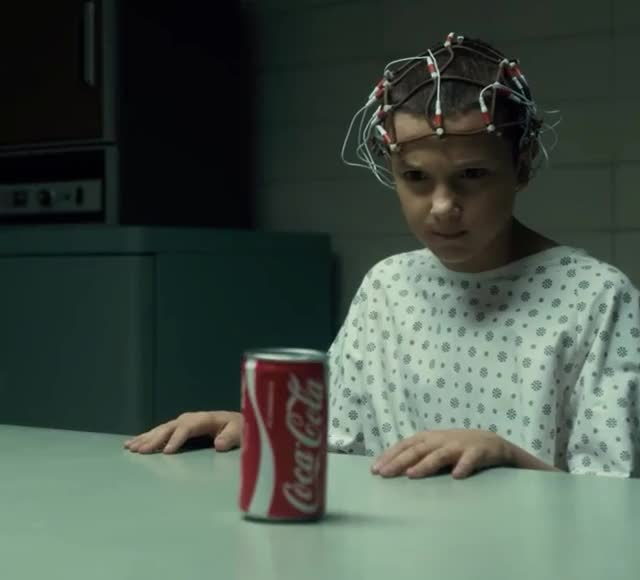 Watch this stranger things GIF by GIF Queen (@ioanna) on Gfycat. Discover more 11, angry, coke, eleven, mad, mind, netflix, pissed, psycho, stranger, stranger things, things GIFs on Gfycat