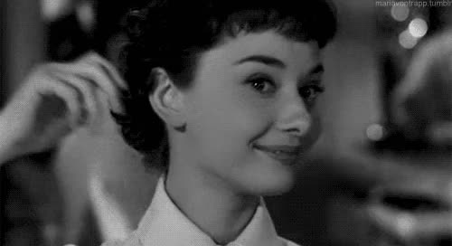 Watch original GIF on Gfycat. Discover more 1950s, 1950s movies, 1953, audrey, audrey hepburn, beautiful, beautiful as always, hepburn, movie, roman holiday GIFs on Gfycat
