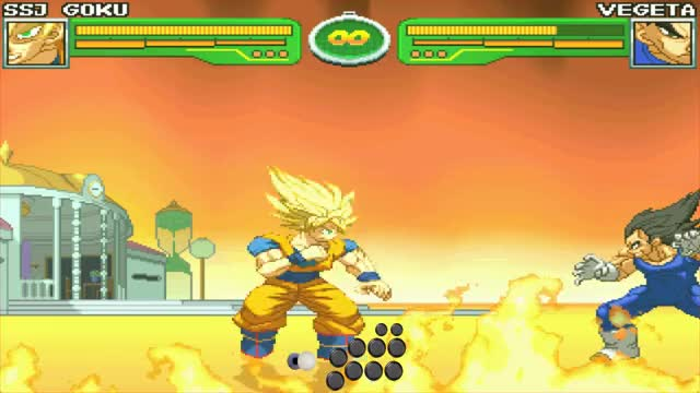Watch and share Hyper DBZ Goku Combo GIFs by snuffychris605 on Gfycat
