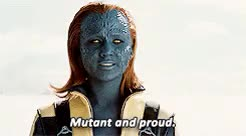 Watch and share Jennifer Lawrence GIFs and Mystique GIFs on Gfycat