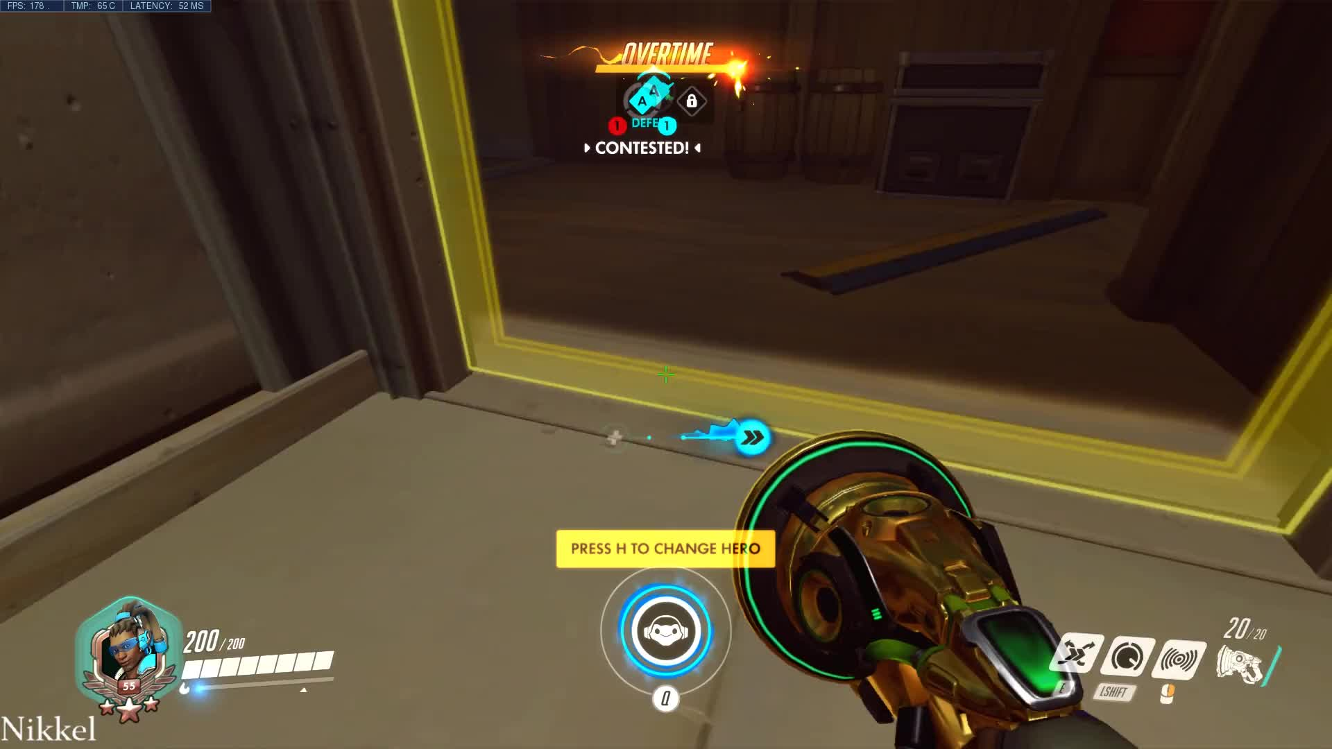 Hollywood, Lucio, Overwatch, HOLLYWOOD FIRST DEFENSE SPEEDRUN GIFs