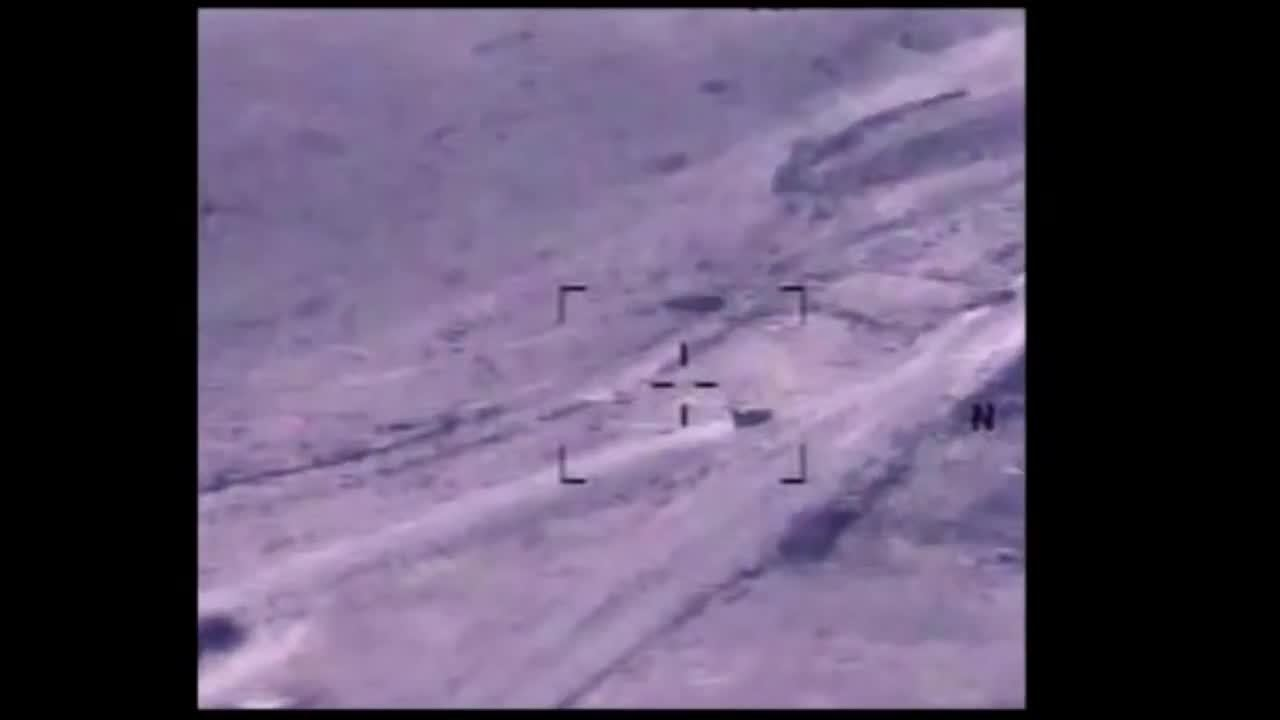 Unclassified Airstrike Over Northern Iraq - Aug 18, 2014 GIFs