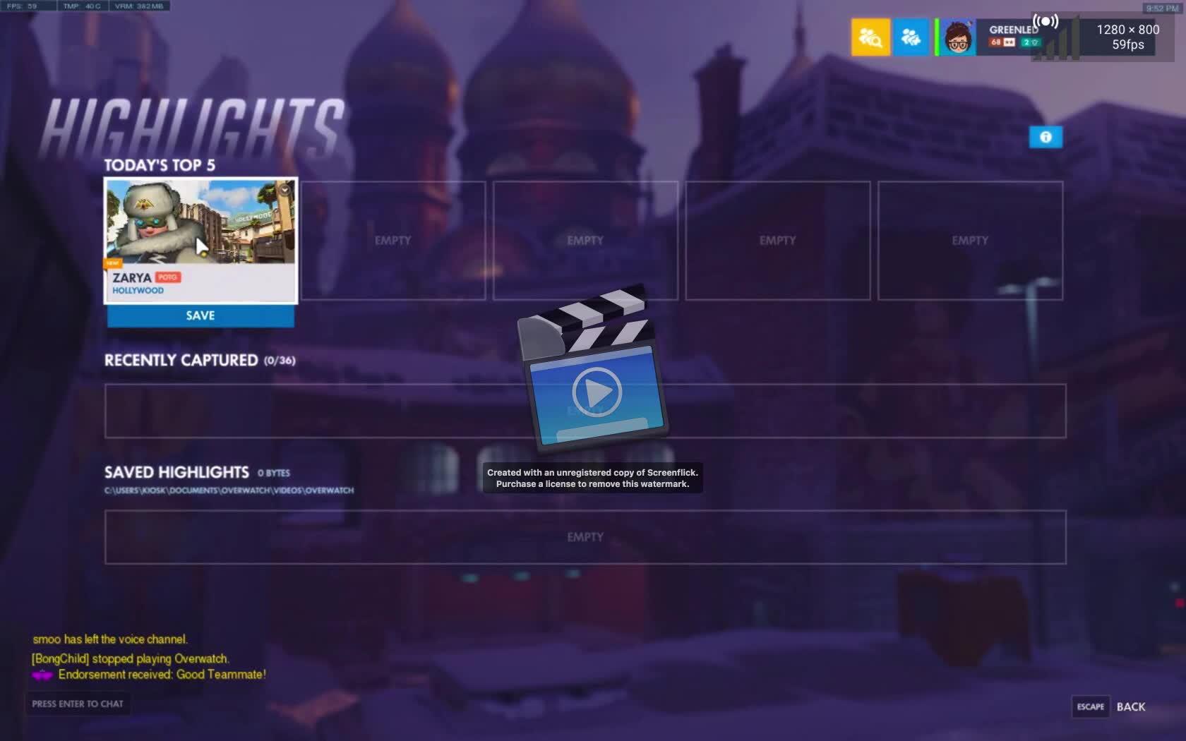overwatch, Highlight GIFs