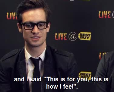 Watch and share Brendon Urie GIFs and Sarah Urie GIFs on Gfycat