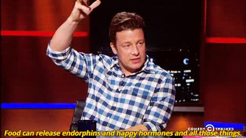 Watch and share Jamie Oliver Happy Hormones GIFs on Gfycat