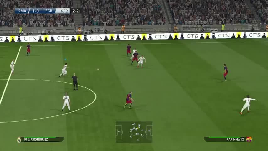 wepes, Speaking of horrible misses, this would have been my first 2-leg victory over Barcelona on Superstar on the first try. Thanks Bale. (reddit) GIFs