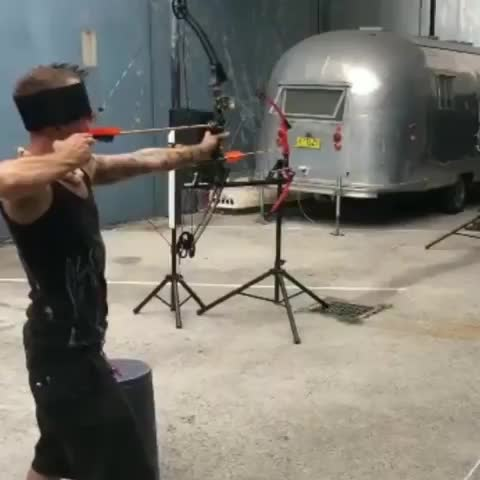 Watch Arrow shot GIF by Boojibs (@boojibs) on Gfycat. Discover more Trick shot, archery, bows GIFs on Gfycat