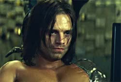 Watch this bucky barnes GIF on Gfycat. Discover more Bucky Barnes, Sebastian Stan, captain america winter soldier, catfa, catws, marvel, winter soldier GIFs on Gfycat