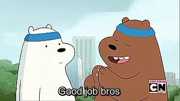 Watch and share This Show Is Great GIFs and We Bare Bears GIFs on Gfycat