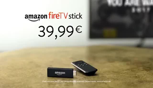 Watch and share Der Amazon Fire TV Stick Mit Matthias Schweighöfer Und Katrin Bauerfeind (30 Sek) GIFs on Gfycat