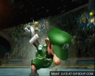 Watch luigi GIF on Gfycat. Discover more related GIFs on Gfycat