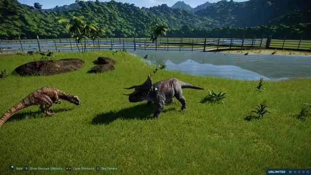 Watch and share Jurassic World Game GIFs and Battle At Big Rock GIFs on Gfycat