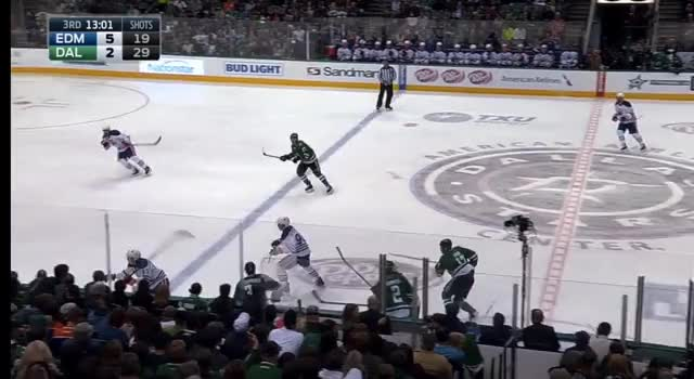 Watch and share Benning-Nurse Backhand Breakout GIFs by cultofhockey on Gfycat
