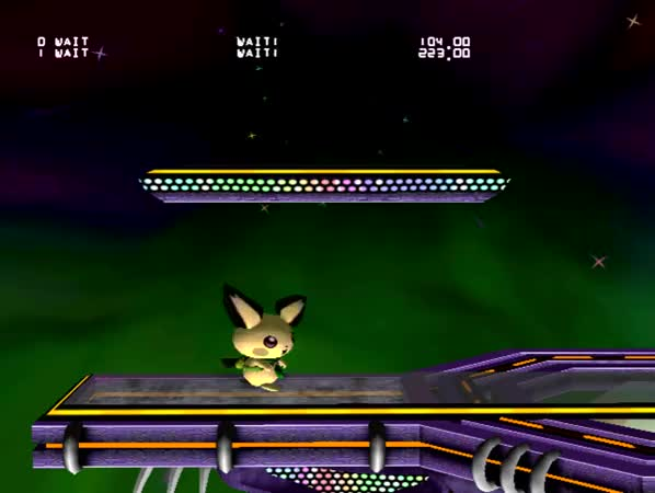 Watch and share Pichu Nair Aerial Interrupt Attack GIFs on Gfycat