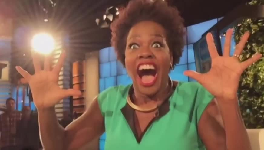 Heads Up! Viola Davis Acts Out Feelings GIFs
