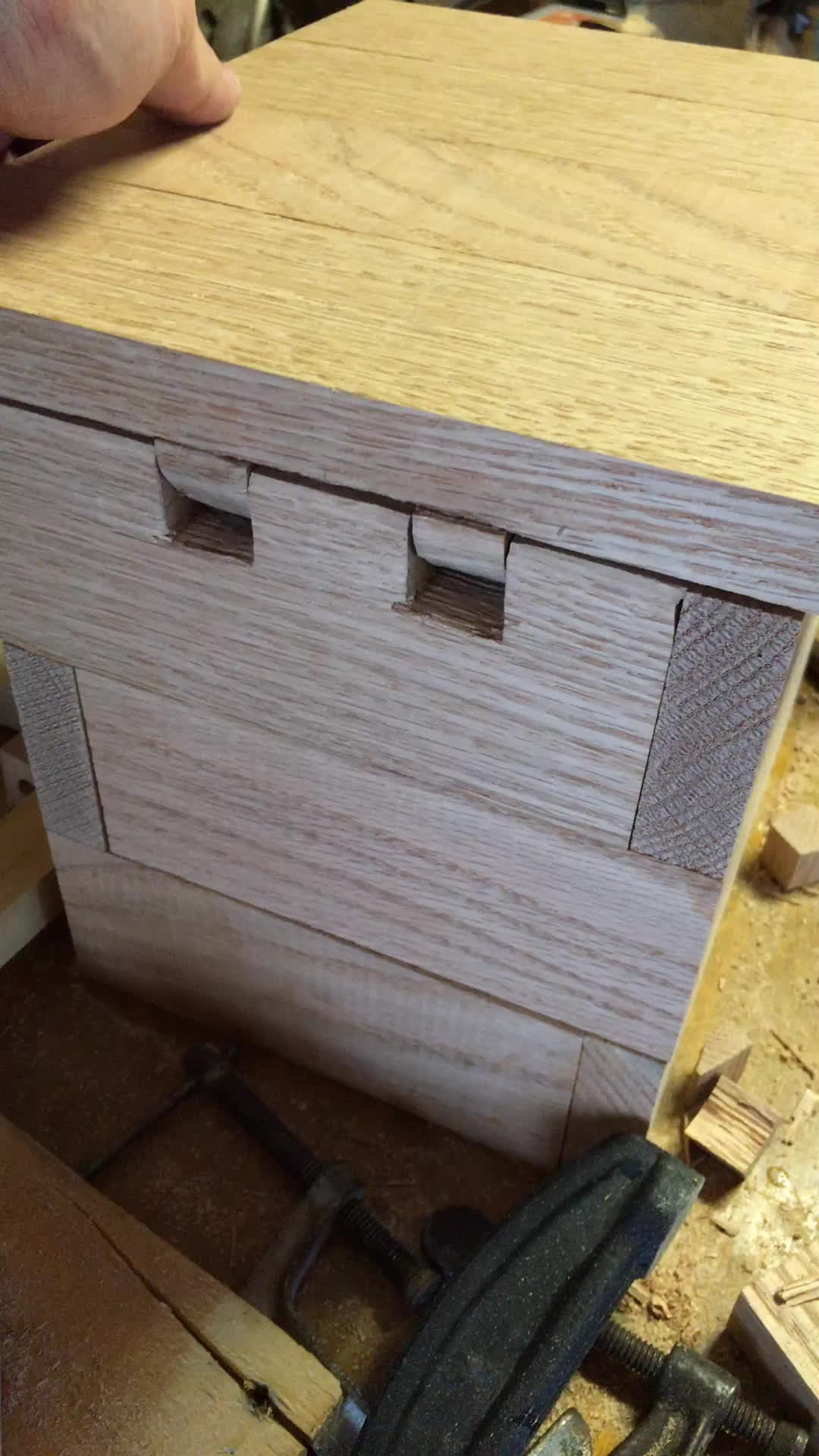 woodworking, Wooden hinges on a birdhouse GIFs