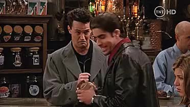 Watch and share Chandler Bing Gif GIFs and Matthew Perry Gif GIFs on Gfycat