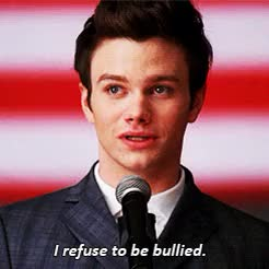 Watch and share Blaine Anderson GIFs and Chris Colfer GIFs on Gfycat