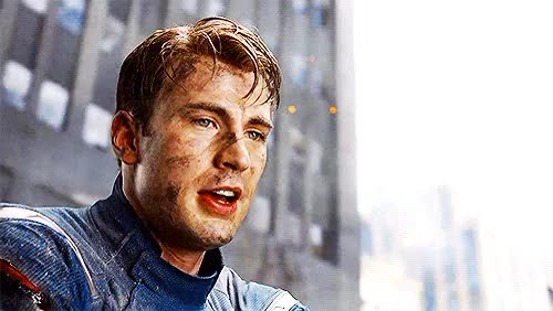 Watch and share He's Just Perfect GIFs and Steve Rogers GIFs on Gfycat