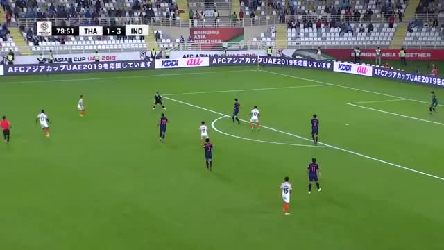 Watch Thailand 1-4 India (AFC Asian Cup UAE 2019: Group Stage) GIF on Gfycat. Discover more 2015, 2018, 2019, Thailand, ac2015, afc, asian, australia, cup, qualifiers, soccer, wsg GIFs on Gfycat