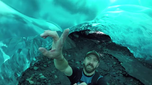 Watch and share Mendenhall Glacier GIFs and Exploring GIFs by Always Bring Sunscreen on Gfycat