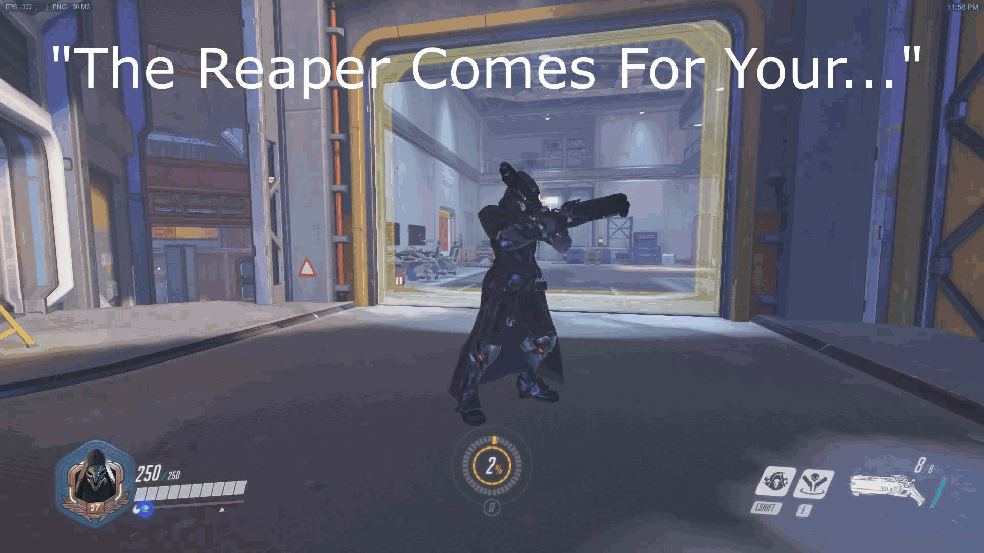 overwatch, overwatch meme, The Reaper Comes For Your.... Oh Look A Penny GIFs