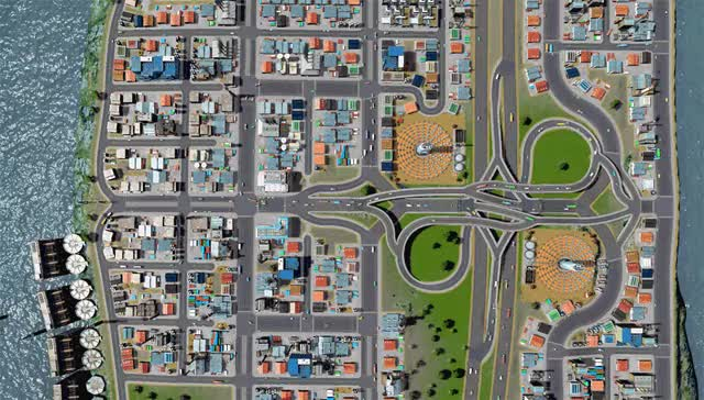 Watch Cities Skylines Industry Interchange GIF on Gfycat. Discover more citiesskylines GIFs on Gfycat