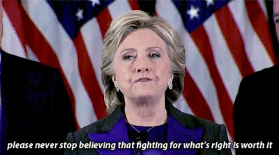 hillary clinton, never, Never Give Up, Never Surrender GIFs