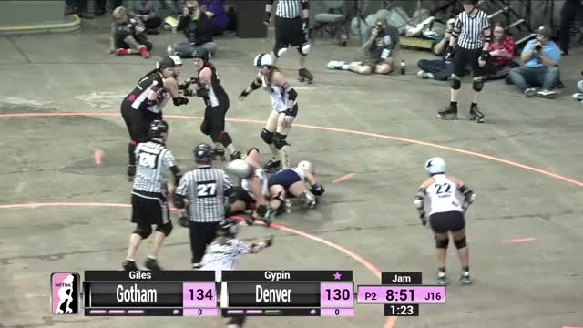 Watch Gotham GIF by @wutangjam on Gfycat. Discover more Association, Derby, Flat, Roller, RollerDerby, Track, WFTDA, Women, Women Roller Derby, Womens GIFs on Gfycat