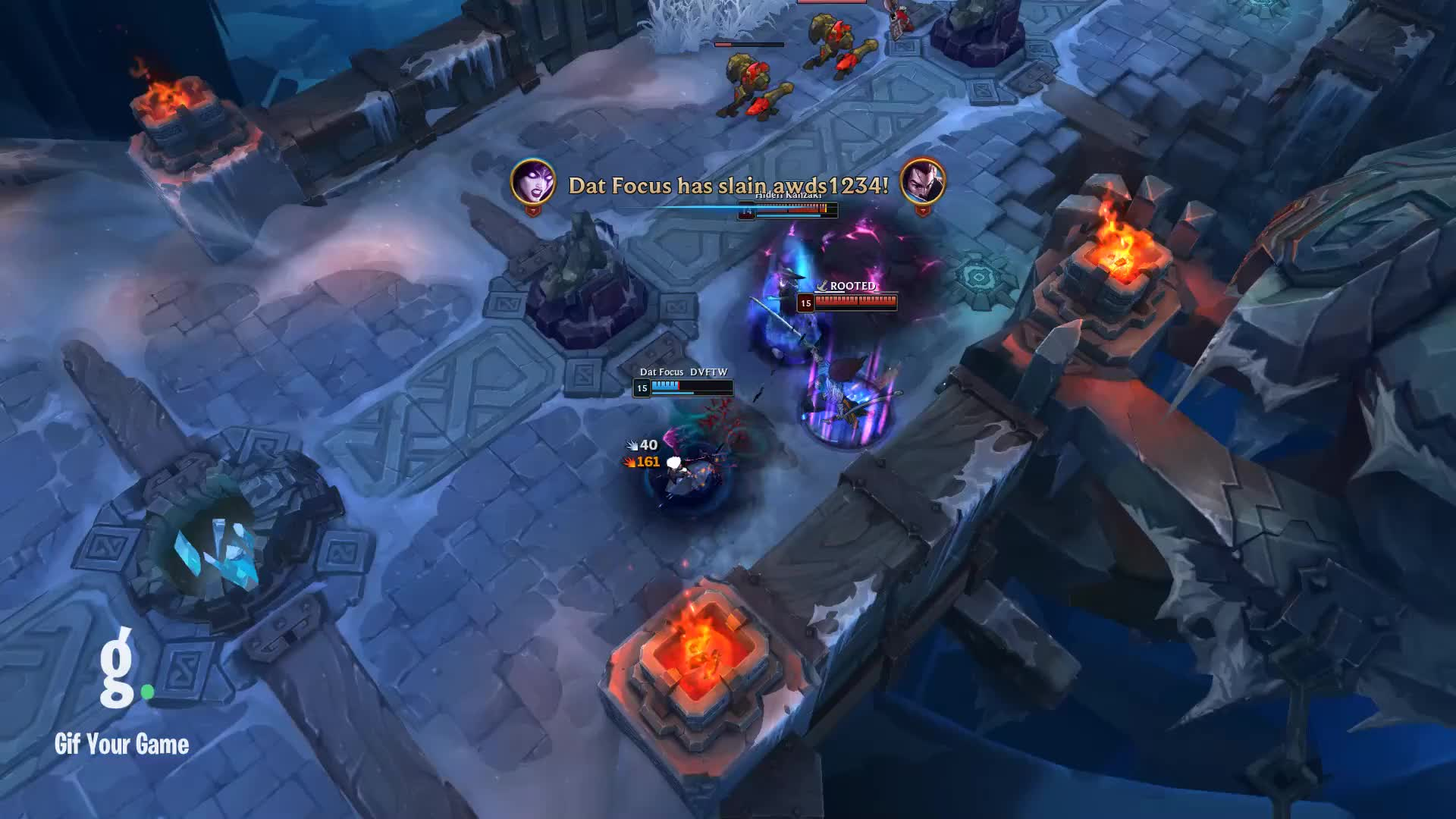 Gaming, Gif Your Game, GifYourGame, Kill, League, League of Legends, LeagueOfLegends, LoL, Remixed Champion Kill 50: Dat Focus kills awds1234 GIFs