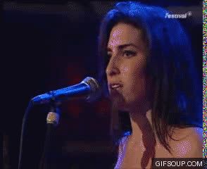 Amy Winehouse Live GIFs