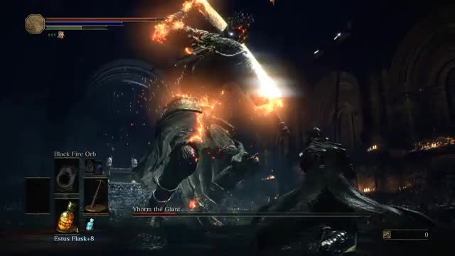 Watch and share Dark Souls III - Yhorm The Giant GIFs on Gfycat