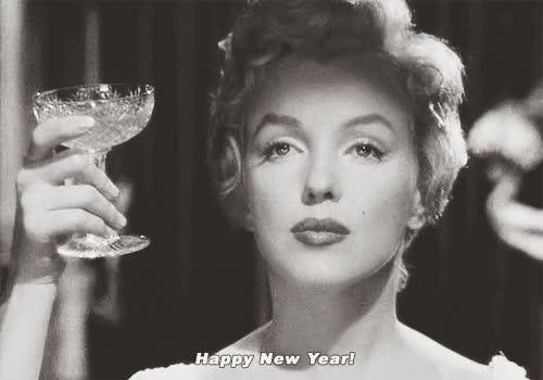 Watch this new year GIF by Reaction GIFs (@sypher0115) on Gfycat. Discover more Happy New Year, holiday, marilyn monroe, new year, new years GIFs on Gfycat