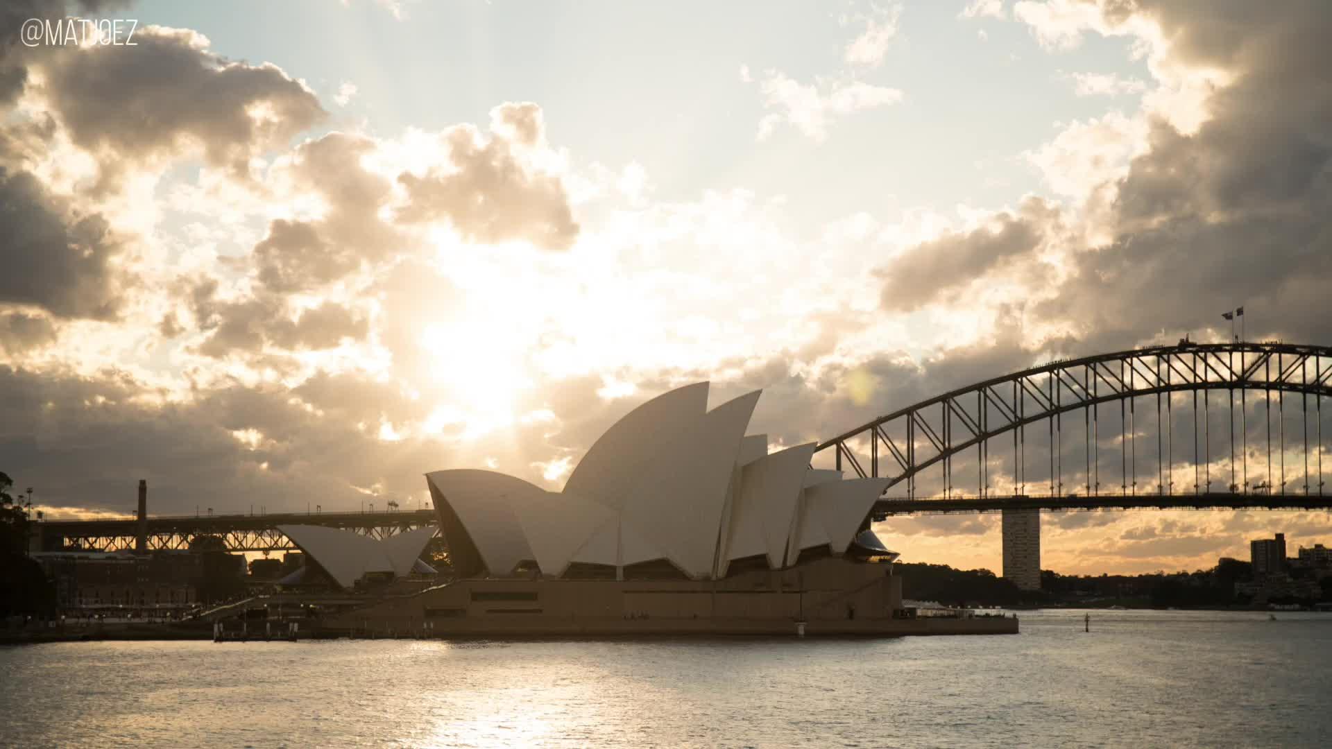 highqualitygif, matjoez, timelapse, Sydney Opera House GIFs