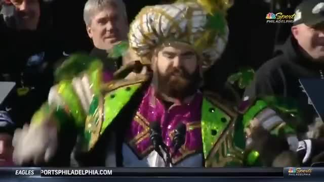 Watch and share JASON KELCE PARADE SPEECH UNCENSORED GIFs on Gfycat