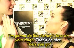 Watch and share Divergent Cast GIFs and Ansel Elgort GIFs on Gfycat