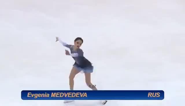 Watch and share Evgenia Medvedeva - SP, Ondrej Nepela 2017, (80.00) GIFs on Gfycat