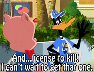 Watch and share Looney Tunes Daffy Duck Porky Pig The Looney Tunes Show Tlts Animated ... GIFs on Gfycat