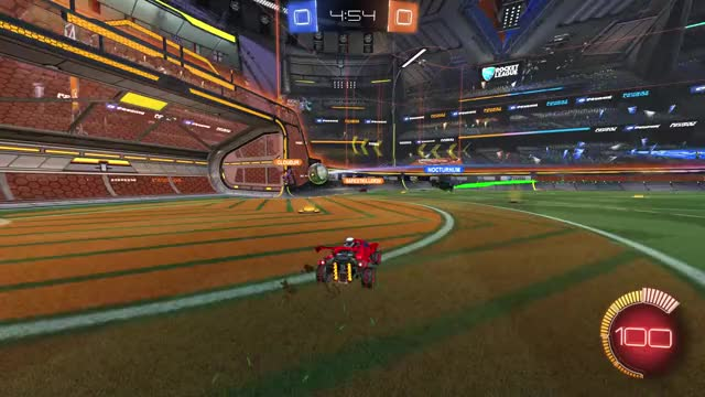Watch ceiling dunk GIF on Gfycat. Discover more RocketLeague GIFs on Gfycat