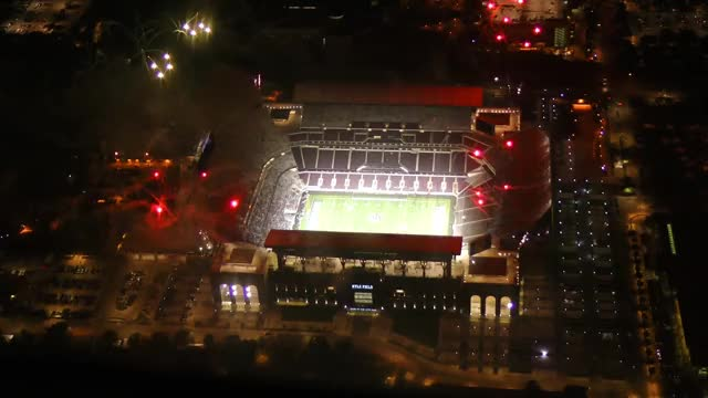 Watch New Kyle Field fireworks, midnight yell, RWB out  aerials GIF by @telcoaggie on Gfycat. Discover more kyle field (sports facility), kyle field ball state, kyle field renovation GIFs on Gfycat