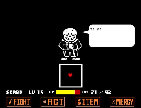Watch and share Undertale - Spare Sans GIFs on Gfycat
