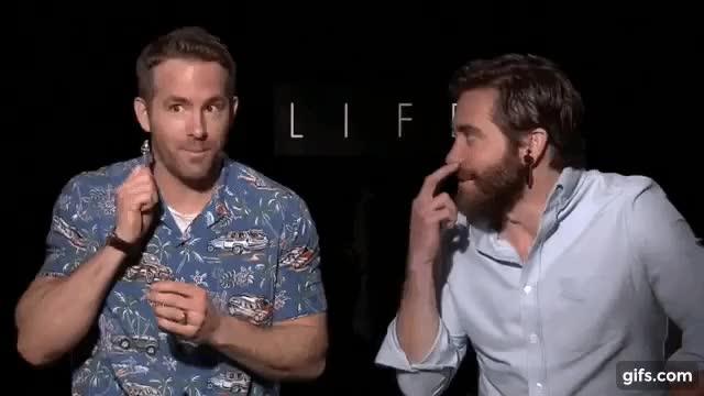 Watch and share Ryan Reynolds GIFs and Deadpool GIFs on Gfycat
