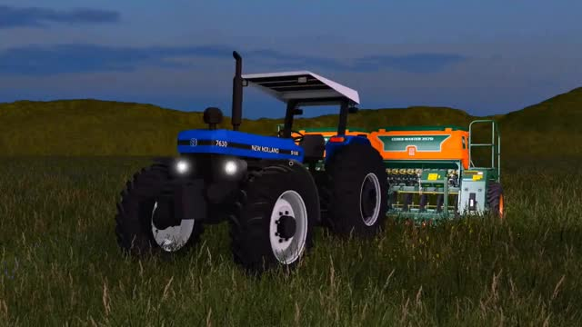 Watch NEW HOLLAND 7630 V1 - FARMING SIMULATOR 17 GIF on Gfycat. Discover more related GIFs on Gfycat