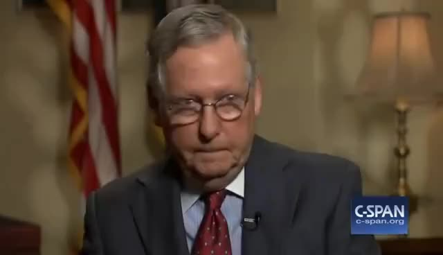"""Watch and share Senators McConnell And Schumer Discuss Senate Rules & """"nuclear Option"""" (C-SPAN) GIFs on Gfycat"""