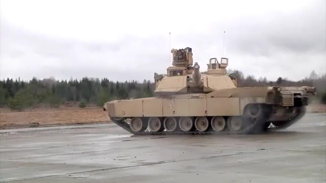 Watch and share M1A2 Showing Off Its Turret Stabilization System (reddit) GIFs on Gfycat